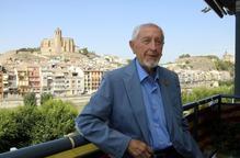 L'escriptor Josep Vallverdú, nomenat fill predilecte de Lleida