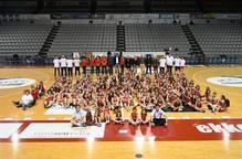 El CB Lleida presenta els seus 16 equips a l'afició