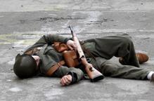 Les Garrigues recrea els bombardejos franquistes