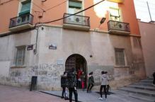 Protestes pel tancament del Cervantes