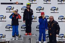 Un centenar d'escolars al Trofeu Diputació a Espot Esquí