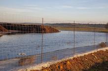 Els Rurals vigilen els lixiviats de la bassa de la planta d'Ossó