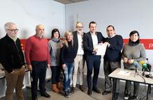 Ordeig presenta 340 avals per seguir al davant del PSC a Lleida