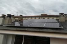 L'elèctrica de la Seu ja paga per l'energia sobrant de plaques solars
