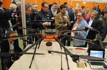 Mollerussa, l'aparador de drons més gran de Catalunya