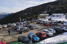 Port Ainé guanyarà 325 places de pàrquing l'hivern que ve i posarà fi als col·lapses