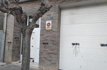"""L'alcaldessa de Tremp denuncia pintades amb la inscripció """"nazis"""" a casa seua"""