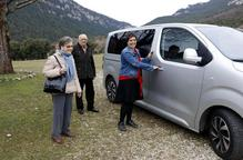 Taxistes perquè la gent gran del Solsonès vagi al metge