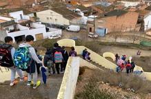 Almacelles renova l'accés a l'escola Antònia Simó