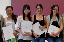 Una alumna xinesa de la UdL envia des del seu país més de mil mascaretes