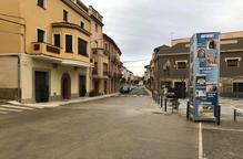 Montgai acaba les obres de millora de la plaça de la Fassina i el seu entorn