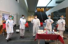 Més de 130 donants de sang a la Llotja de Lleida
