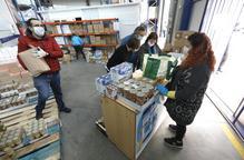 El Banc dels Aliments de Lleida demana donacions econòmiques per comprar aliments