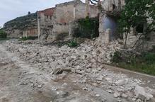 S'esfondra una antiga mina de la Granja d'Escarp