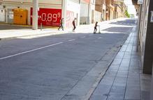 Tàrrega amplia una vorera i millora l'accessibilitat del carrer de Santa Clara