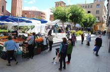 Mollerussa torna a acollir el mercat dos mesos després