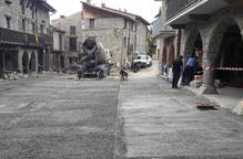 Bellver tanca la plaça Major als vehicles