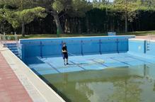 Castelldans inicia la neteja de les piscines