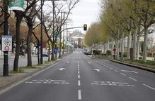 L'Eix critica el tall d'avinguda Madrid i Joana Raspall els dissabtes