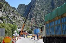 Pas alternatiu a la C-14 per revestir el túnel de Tres Ponts