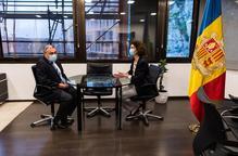 La frontera d'Andorra reobre avui però sols per a veïns del Principat