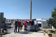Vallfogona de Balaguer recupera la creu de terme retirada fa quinze anys