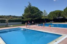 Un grup electrogen a la piscina d'Esterri d'Àneu