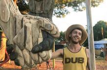 Escultura efímera aquest dissabte a la Vinya dels Artistes