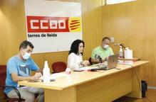 CCOO presenta un pla per a la campanya fructícola
