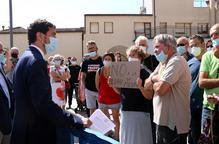 Protesta contra l'allau de projectes de molins de vent a la Segarra