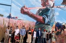 La Fuliola presenta el mural dedicat al Segar i el Batre