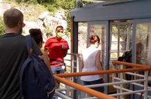 Cinc-cents viatgers estrenen el telefèric d'Estany Gento