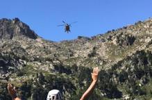 Els Bombers efectuen 115 rescats de muntanya fins al juliol d'aquest any