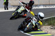 Tres podis per al Suzuki Grau Racing a l'Estatal de Supermoto