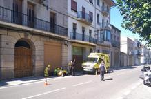 Dos motoristes ferits a Ponts i Preixens