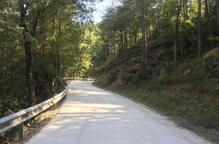 El consell renova la calçada de camins de Lladurs i Clariana