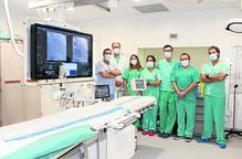 L'Arnau estrena a la fi tecnologia punta per a intervencions cardíaques