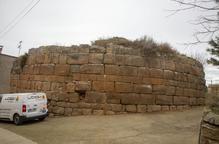 En marxa la restauració de la torre romana de Castellnou d'Ossó