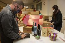 Lots de Nadal del Grup Alba amb productes de proximitat