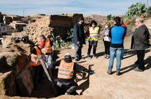 Els experts afirmen que la troballa d'Aitona correspon a un vas sepulcral