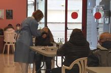 Més de 1.800 tests en una altra jornada de cribratge massiu en set municipis de Lleida