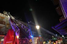 Desallotjats per l'incendi d'una xemeneia a Bellver de Cerdanya