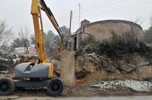 Biosca repara les fuites del dipòsit municipal d'aigua
