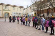 Baixen en 700 els alumnes i docents confinats a Lleida