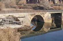 Alfarràs restaura un altre arc del pont medieval