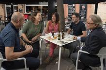 El jurat avalua els 39 establiments de la V Ruta de la Tapa de San Miguel de Lleida