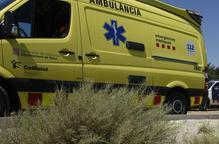 En estat crític un motorista després de tenir un accident a Torà