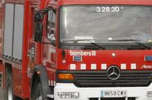 Els Bombers rescaten un ciclista ferit greu a Tor, al Pallars Sobirà