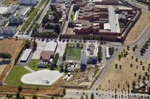 Protesta dels bombers de Lleida, que no fan hores extra