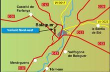 Inicien aquesta setmana les obres de la variant nord-oest de Balaguer